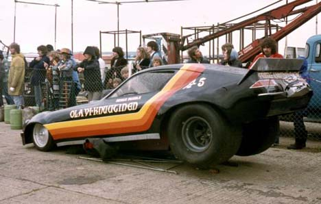This Funny Car Teamed A Very Rich Swede Named Olavi Knuutinen And British Racer Dennis Priddle Was Talented Chis Builder