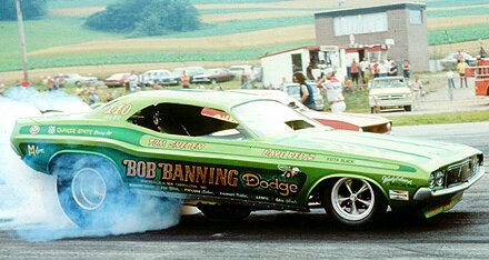 Bob Banning Dodge Race Cars