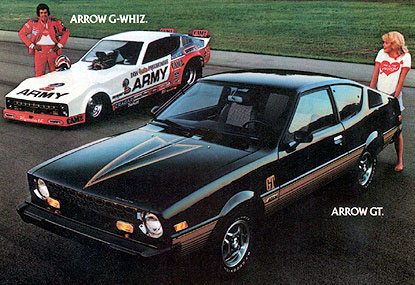 1978 Plymouth Arrow magazine ad